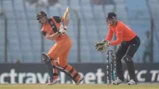 ICC World T20 2014: Netherlands post modest 134-run target against England