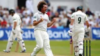 Ryan Sidebottom credits the whole Yorkshire team for their title win in English county championship