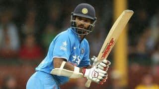Deodhar Trophy 2017: Shikhar Dhawan's century guides India B past 300 vs India A