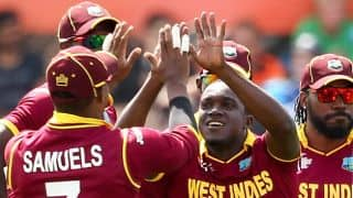 Pakistan vs West Indies ICC Cricket World Cup 2015 Pool B match at Christchurch