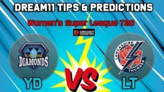 Dream11 Team Yorkshire Diamonds vs Lancashire Thunder Match 23 KSL 2019 KIA SUPER LEAGUE T20 – Cricket Prediction Tips For Today's T20 Match YD vs LT at Scarborough