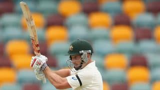 India vs Australia, 2nd Test at Brisbane, Day 2: Shaun Marsh out for 32