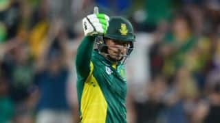 De Kock almost breaks Dhoni, Kirsten's records