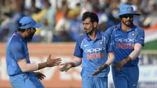 Yuzvendra Chahal becomes highest wicket-taker in T20Is in 2017