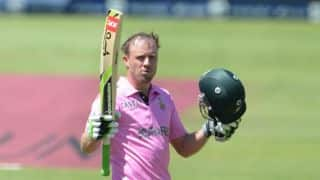 VIDEO: AB de Villiers's 100 from 31 balls during South Africa vs West Indies 2014-15, 2nd ODI