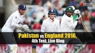 PAK 323/6 | Pakistan vs England 4th Test, Day 2 Live Updates. Younus Khan gets to his century