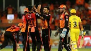 IPL 2019, SRH vs CSK: Sunrisers Hyderabad restrict Chennai Super Kings to 132/5