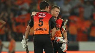 IPL 2017: Ponting names Warner as skipper of his IPL XI