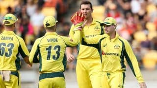 Steven Smith livid after New Zealand crowd forces dismissal of Mitchell Marsh in 3rd ODI at Wellington