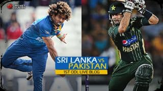 Live cricket score, Sri Lanka vs Pakistan 2015, 1st ODI at Dambulla: Pakistan win by 6 wickets