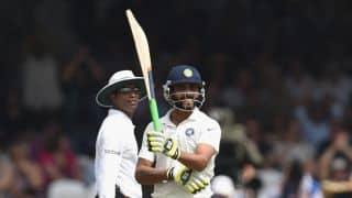 Ravindra Jadeja dismissed for 34 in India vs South Africa, 3rd Test, Day 1 at Nagpur
