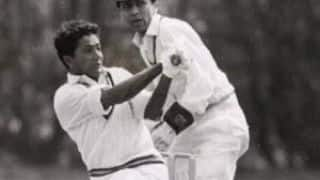 Hanif Mohammad gets run out for 499