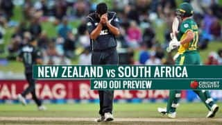 New Zealand vs South Africa 2nd ODI, Preview: Hosts in a bid to stop visitors' winning rampage