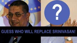 Yadav likely to succeed Srinivasan as BCCI chief