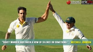 Mitchell Johnson opens up on the