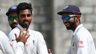 Rahane, Bhuvneshwar return for Wanderers Test; Rohit dropped