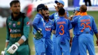पाकिस्तान के साथ विश्व कप मैच खेलने पर कल लिया जाएगा फैसला