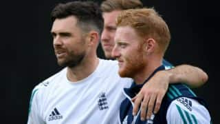 The Ashes 2017-18: James Anderson ready to replace Ben Stokes as England's vice-captain