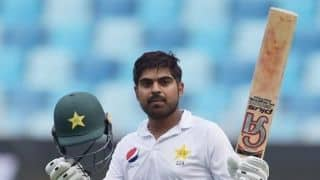 2nd Test, Day 2, Lunch report: Ton-up Haris helps Pakistan progress to 274/4