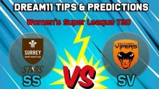 Dream11 Team Surrey Stars vs Southern Vipers, Women's Super League T20– Cricket Prediction Tips For Today's match SS vs SV at The Oval