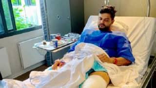 Suresh Raina undergoes knee surgery, will be on rehab for at least 4-6 weeks