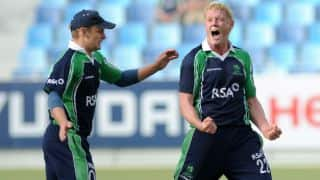 Ireland bowl Scotland out for 172 in 1st ODI