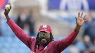 WI vs AFG: West Indies give victory goodby to Chris gayle in his last world cup match