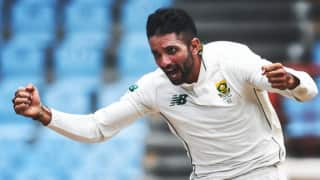West Indies vs South Africa, 2nd Test: keshav Maharaj hat-trick spins South Africa to series win in West Indies