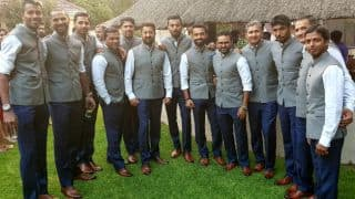 Virat Kohli and team visit India House in Johannesburg