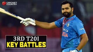 Rohit vs Thisara and other Key Battles at Wankhede