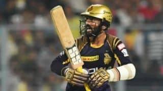 दिनेश कार्तिक ने आंद्रे रसेल की तारीफ की, गेंदबाजों को मिली चेतावनी