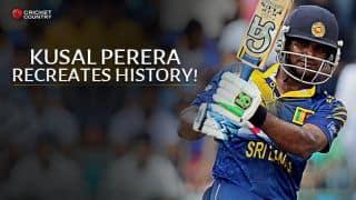 Sri Lanka vs Pakistan 2015: Kusal Perera scores joint second-fastest ODI fifty
