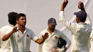 Mumbai eye 168 runs, Karnataka need 4 wickets