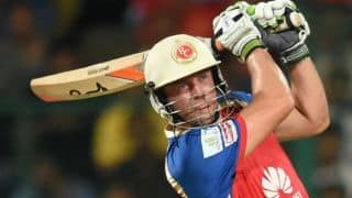 AB de Villiers resurrects RCB with astute fifty against RR in IPL 2015 Eliminator
