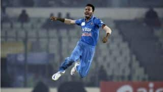 Watch: Hardik Pandya playing helicopter shot against Ireland in 1st T20I