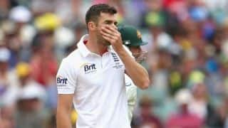 England's James Anderson rules out of 2nd Ashes Test