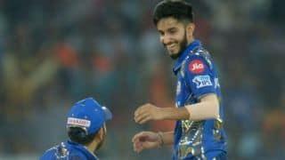 IPL2018: Venkatapathy Raju praises MI's Mayank Markande