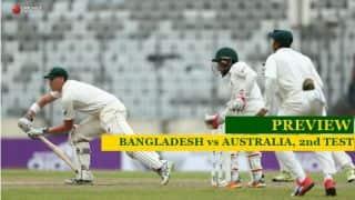 Bangladesh vs Australia, 2nd Test: Steven Smith's men play to save series, Musfiqur Rahim's men to create history