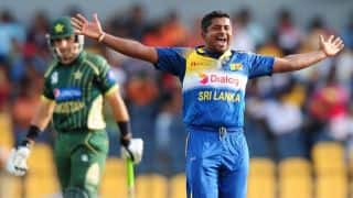 Sri Lanka vs Pakistan 2014, 2nd ODI at Hambantota: Pakistan losing wickets at regular intervals