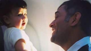 Video: MS Dhoni celebrates Christmas with daughter Ziva