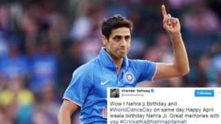 Happy Birthday Ashish Nehra: Virender Sehwag, Sachin Tendulkar, Rohit Sharma, others wish '#CricketkaBhishmapitamah'