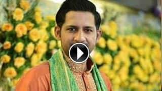 VIDEO: Sarfraz Ahmed singing 'Pakistan Pakistan' at Independence Day function