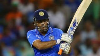 MS Dhoni's wicket puts Bangladesh in driver's seat