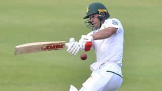 पोर्ट एलिजाबेथ टेस्ट: एबी डी विलियर्स ने जड़ा धमाकेदार शतक; कगीसो रबाडा की घातक गेंदबाजी से दक्षिण अफ्रीका ने की वापसी
