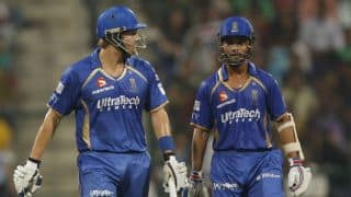 IPL 2014: Ajinkya Rahane believes Shane Watson is cool and calm headed like Rahul Dravid