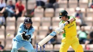 ICC World Cup 2019: Steve Smith hundred powers Australia to 297/9 in England warm-up