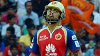 Virat Kohli: Royal Challengers Bangalore will have to 'wait and watch' to know IPL 7 fate
