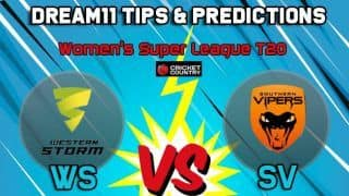 WS vs SV Dream11 Team Western Storm vs Southern Vipers, Women's Super League T20– Cricket Prediction Tips For Today's match at Bristol