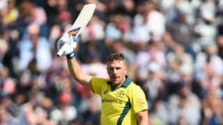 Aaron Finch: Disappointing not to be not out at the end