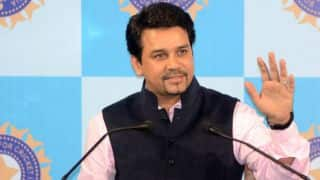 VIDEO: Anurag Thakur says India will not play with Pakistan